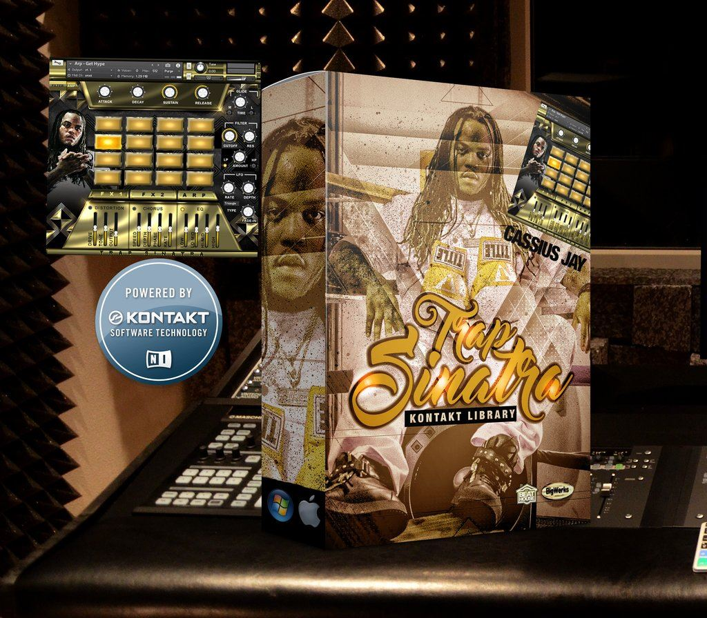 The Beat House Kits Trap Sinatra Kontakt Library - FRESHSTUFF4YOU