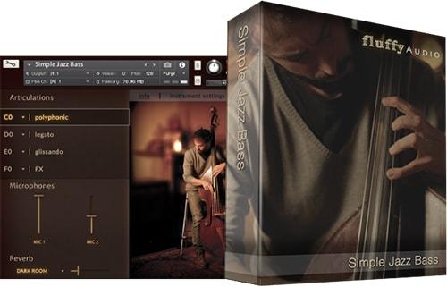 FluffyAudio Simple Jazz Bass KONTAKT