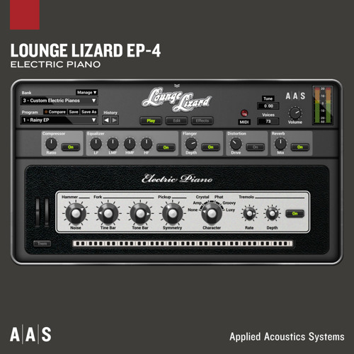 Applied Acoustics Systems Lounge Lizard EP-4 v4 2 5 WIN