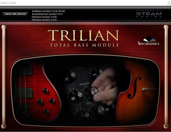 Spectrasonics Trilian 1 4 4c Complete WIN & MAC - FRESHSTUFF4YOU