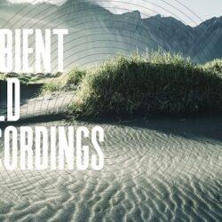 Ambient Field Recordings by AK WAV