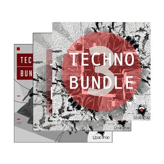 Chop SHop Samples Techno Bundle 1-3